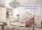 Set Kamar Ukir Putih Klasik Pengantin Morenna