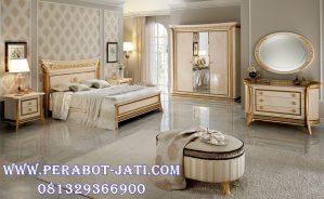 Kamar Set Modern Desain Tempat Tidur Pengantin Klasik