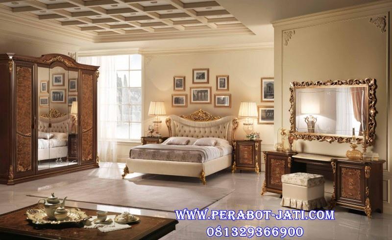 Set Kamar Tidur Gold Klasik Marlyn