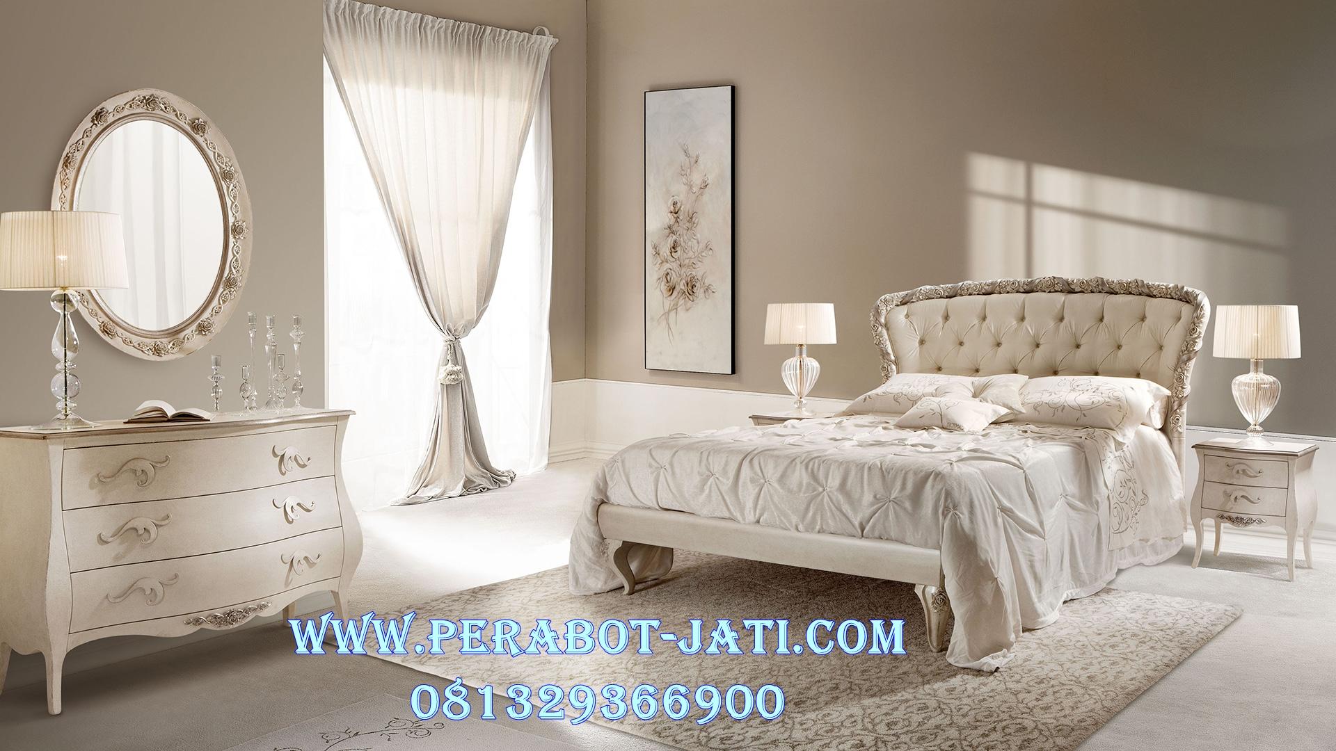 Tempat Tidur Minimalis Klasik Monte