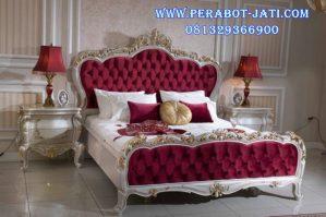 Set Tempat Tidur Pengantin Ukir Mewah Sadrina