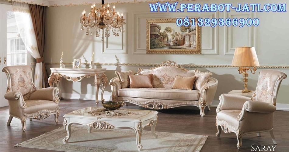 Kursi Sofa Ruang Tamu Luxury