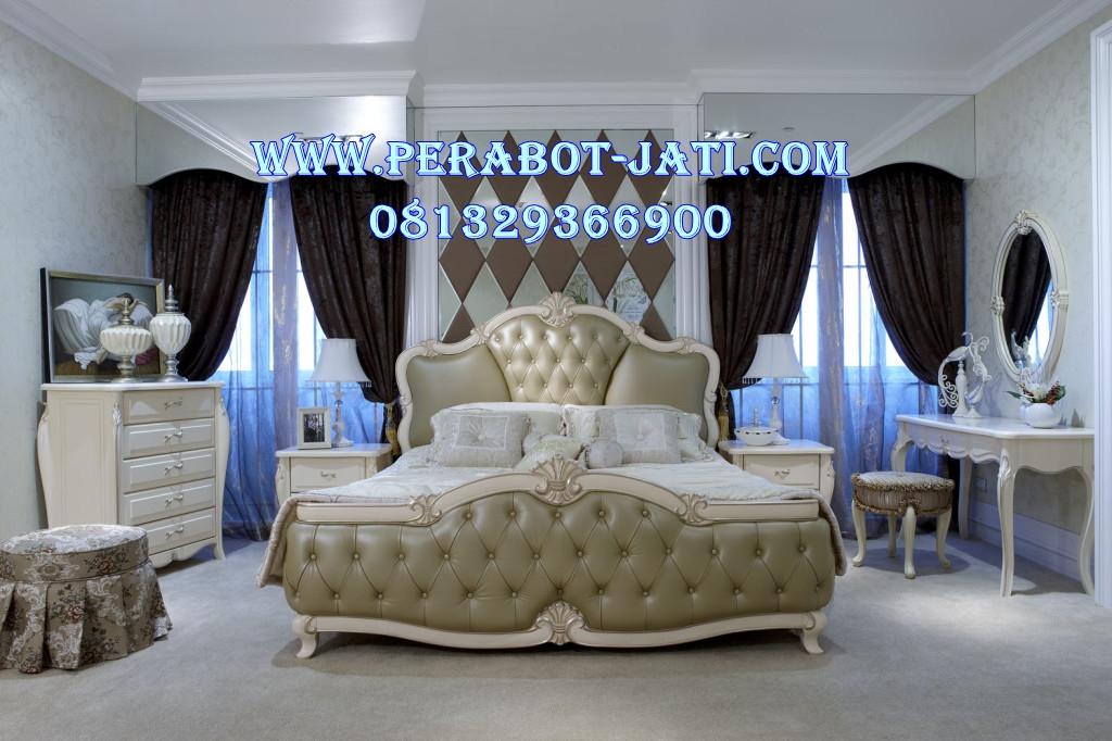 Set Kamar Tidur Minimalis Mewah Desain Ranjang Pengantin Modern