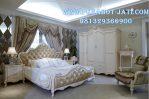 Set Ranjang Tidur Klasik Ukir Minimalis