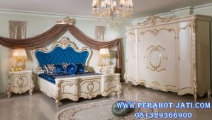 Set Kamar Tidur Ukir Desain Mewah Azzahra