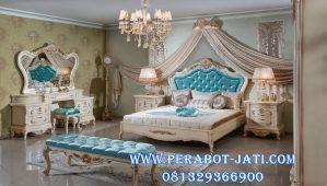 Set Tempat Tidur Pengantin Mewah Klasik Duco Irina