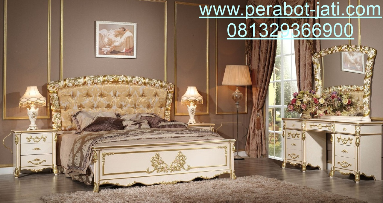 Interior Kamar Set Mewah Dan Klasik Bellona