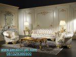 Interior Kursi Sofa Mewah Ruang Tamu Ukir Emas