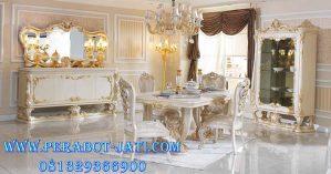 Meja Makan Luxury 4 Kursi Mewah