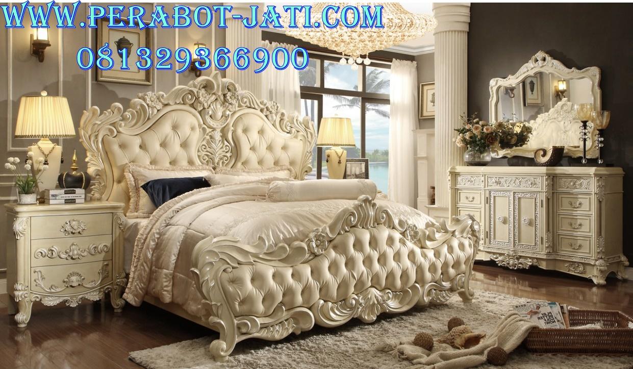 Interior Kamar Tidur Mewah Rococo