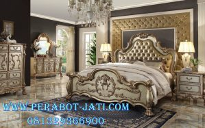 Mebel Tempat Tidur Klasik Mewah