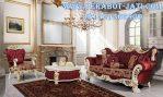 Set Kursi Sofa Putih Ruang Tamu Mewah Bellagio