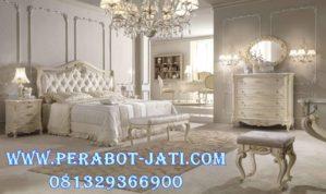 Desain Interior Kamar Tidur Mewah Putih Richfield