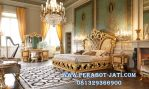 Set Kamar Tidur Pengantin Ukir Gold And Glamor