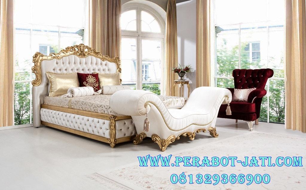 Desain Ranjang Tidur Sultan Gold Nan Mewah