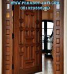 Daun Pintu Utama Model Single Mewah