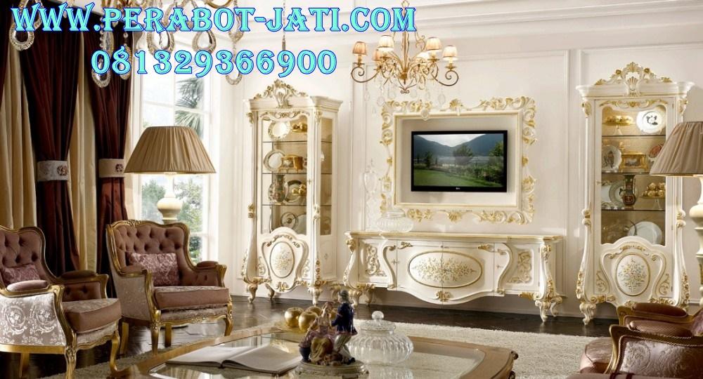 Harga Bufet Tv Klasik And Lemari Hias Mewah Naira