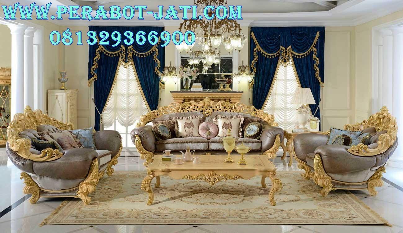 Harga Kursi Sofa Mewah Ukiran Eropa