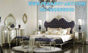 Bedroom Tempat Tidur Mewah Perak Itali