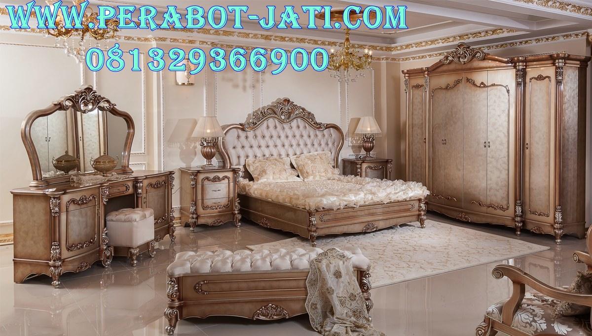Ranjang Kamar Tidur Mewah Furniture luxury Jepara
