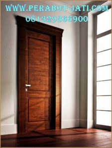 Kusen Pintu Kamar kayu Jati