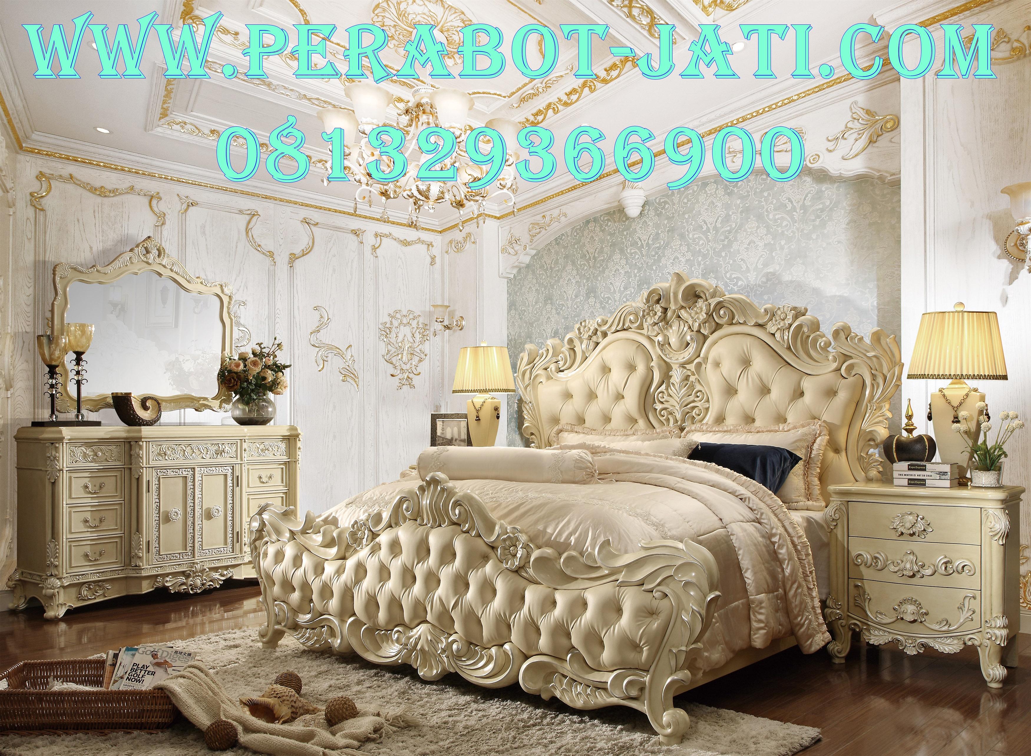 Set Kamar Tidur Mewah Luxury Dan Elegan Mulia