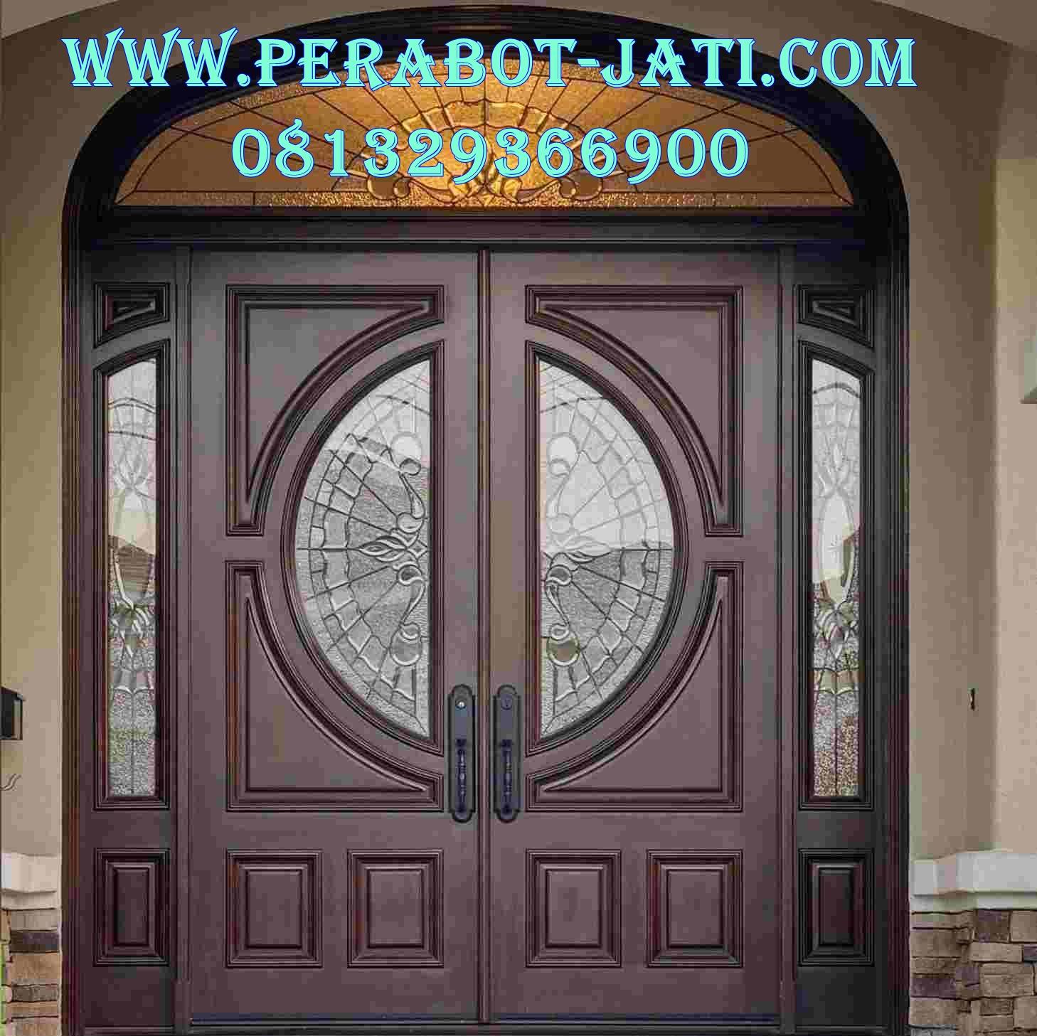 Desain Kusen Pintu Mewah Modern