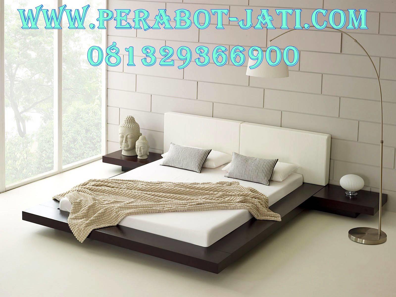 Model Ranjang Tempat Tidur Minimalis Apartemen Jakarta