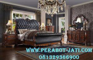 Model Tempat Tidur Ukir Mewah Jepara Royal