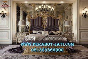 Bedroom Set Kamar Tidur Utama Mewah Eropa