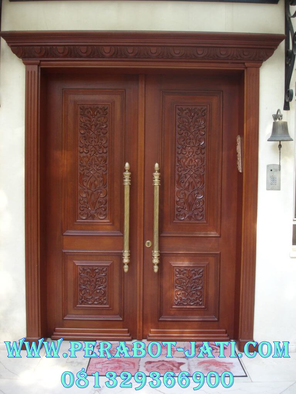Kusen Pintu Kupu Tarung Mewah Ukir Bali