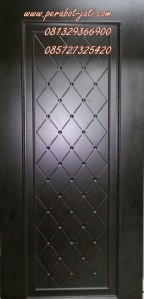 Daun Pintu Minimalis Kayu Ukir Black Pearl