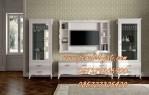 Desain Set Bufet TV Minimalis Mewah Cat Duco Terbaru
