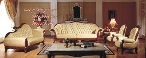 Kursi Sofa Ruang Tamu Clasik Model Mewah Ukiran Jepara Romawi Style