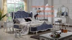 Set Kamar Tidur Mewah Dan Elegan Ukir Eropa Style Cat Duco 2015
