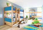 Tempat Tidur Anak Tingkat Minimalis Kayu, Simple dan Mewah
