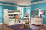 Furniture Set Kamar Tidur Anak tingkat Minimalis Murah
