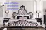 Kamar Tidur Mewah Ukiran Recoco Klasik Model Franch Style Luxury