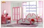Perabot Kamar Tidur Anak Perempuan Princess Model Jakarta Terbaru Warna Pink