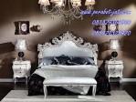 Tempat Tidur Mewah Ukiran Jepara Terbaru Khas Batam Di Perabot Jati-Model Tempat Tidur Pengantin