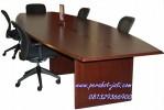 Jual Meja Meeting Kantor Kayu Jati Terbaru