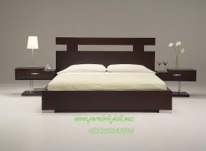 Jual Tempat Tidur Minimalis Salak Brown