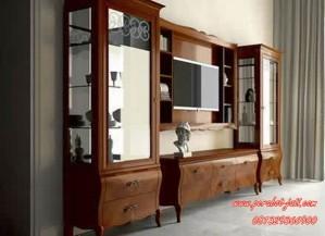 Set Bufet Tv Kayu Jati Borneo