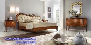 Set Kamar Tidur Klasik Ukir Jati Victoria
