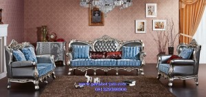Kursi Sofa Mewah Dan Modern Kayu Mahoni Ukiran Romantic