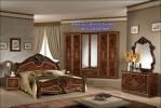Set Kamar Tidur Klasik Jati Luxury