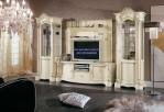Bufet Tv Minimalis Mewah Cat Putih Venza