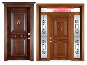 Daun Pintu Rumah Single Panel Kaca