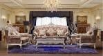 Kursi Sofa Tamu Ukir Mewah Gaya Eropa