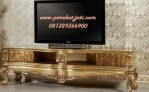 Meja Tv Mewah Gold BTPJ-011